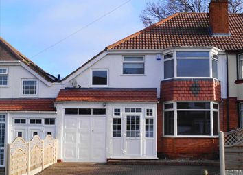 Thumbnail 4 bed semi-detached house to rent in Dene Court Road, Solihull