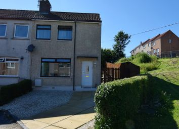Thumbnail 2 bed semi-detached house for sale in Oak Road, Ardrossan