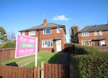 Thumbnail 2 bedroom semi-detached house for sale in East Grange Square, Leeds