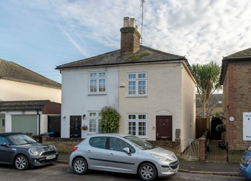 Thumbnail 2 bed semi-detached house for sale in Victory Road, Chertsey