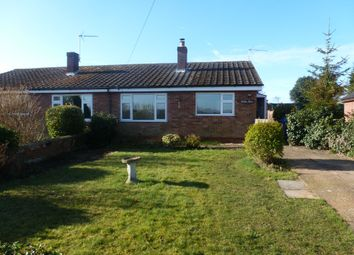 Thumbnail 2 bedroom semi-detached bungalow to rent in Golden Morn, Hulver Street, Hulver, Beccles