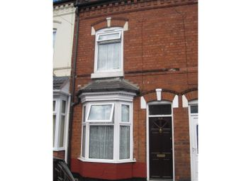 Thumbnail 3 bed terraced house for sale in Carlton Road, Bordesley Green, Birmingham