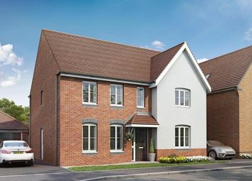 """Thumbnail 4 bedroom detached house for sale in """"Chelworth"""" at Locksbridge Road, Picket Piece, Andover"""