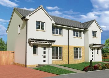 "Thumbnail 3 bed semi-detached house for sale in ""The Carrick"" at Fairlie, Largs"