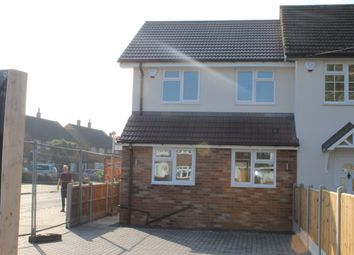 3 bed end terrace house for sale in Wood Lane, Elm Park, Essex RM12