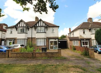 Thumbnail 3 bed semi-detached house for sale in Limpsfield Road, South Croydon, Surrey