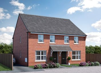 Thumbnail 2 bed semi-detached house for sale in Sandpiper Road Kettering, Thrapston