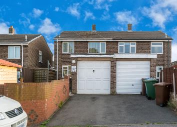 Thumbnail 3 bed semi-detached house for sale in Cleveland Drive, Cannock