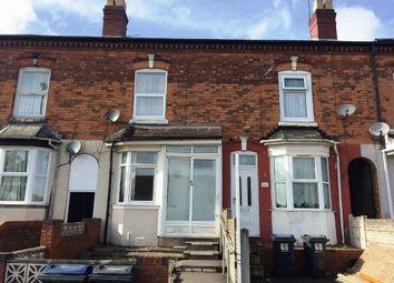 Thumbnail 3 bedroom terraced house for sale in Wiggin Street, Edgbaston, Birmingham
