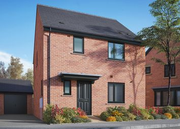 "Thumbnail 3 bed detached house for sale in ""The Elliot"" at Gidding Road, Sawtry, Huntingdon"