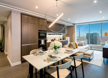 Thumbnail 1 bedroom flat for sale in Park Drive, Canary Wharf