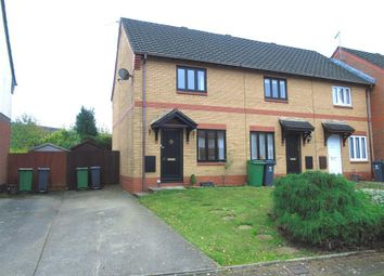 Thumbnail 2 bed end terrace house to rent in Gladeside Close, Thornhill, Cardiff