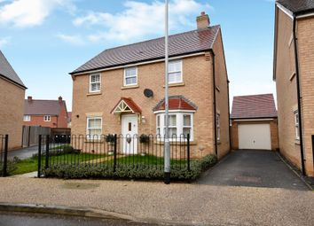 Thumbnail 3 bed detached house for sale in Sanger Avenue, Biggleswade