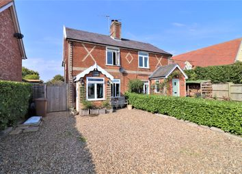 The Street, Chattisham, Ipswich, Suffolk IP8. 3 bed semi-detached house