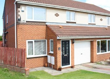 Thumbnail 3 bed semi-detached house for sale in Falcon Road, Hartlepool