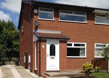 Thumbnail 3 bed semi-detached house to rent in Livingstone Close, Old Hall, Warrington