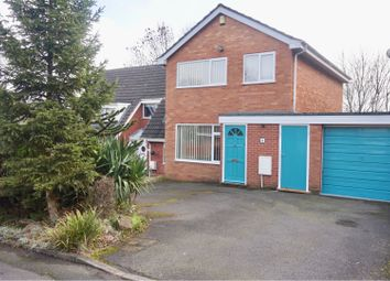 Thumbnail 3 bedroom detached house for sale in Bourton Close, Telford