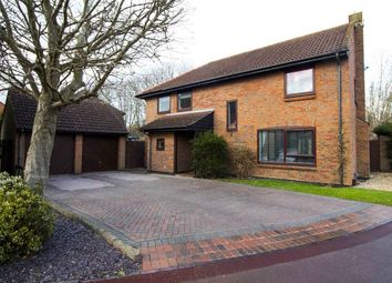 Thumbnail 4 bed detached house for sale in Feld Way, Lychpit, Basingstoke