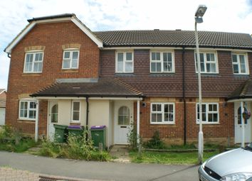 Thumbnail 2 bed terraced house to rent in Grice Close, Hawkinge, Folkestone