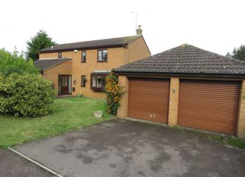Thumbnail 4 bedroom detached house for sale in Sallow Avenue, Northampton