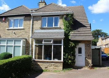 Thumbnail 3 bed semi-detached house for sale in Fairfield Crescent, Dewsbury, West Yorkshire