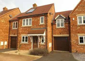 Thumbnail 3 bedroom terraced house for sale in Saxon Close, Mawsley, Kettering, Northamptonshire
