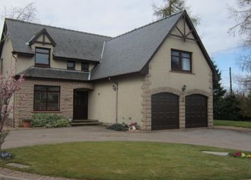 Thumbnail 4 bed detached house for sale in Cairn Gardens, Laurencekirk