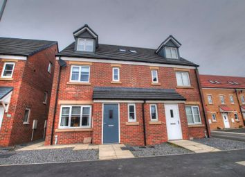 Thumbnail 4 bed semi-detached house for sale in Haggerston Road, Crofton Grange Estate, Blyth