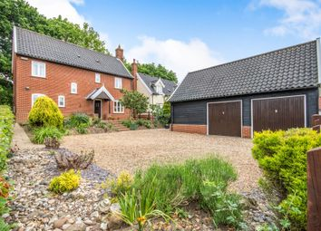 Thumbnail 4 bed detached house for sale in Church Close, South Walsham, Norwich