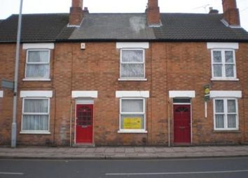 Thumbnail 3 bed terraced house to rent in King Street, Loughborough