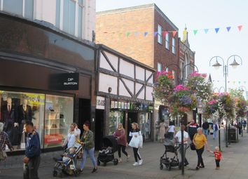 Thumbnail Retail premises for sale in 2 / 4 Victoria Street, Crewe