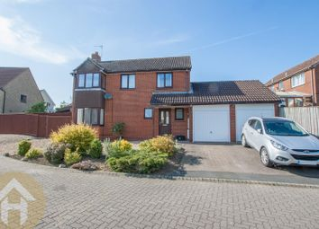 Thumbnail 4 bed detached house for sale in Home Ground, Woodshaw, Royal Wootton Bassett