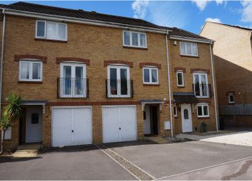 Thumbnail 3 bed town house for sale in David Way, Poole