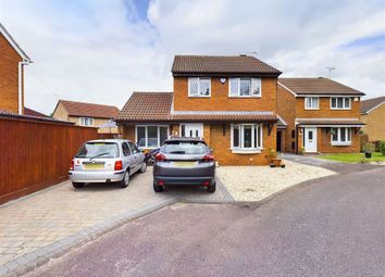 Thumbnail 3 bed detached house for sale in Desford Close, Abbeymead, Gloucester