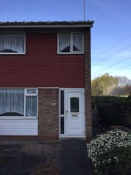Thumbnail 3 bed end terrace house to rent in Fishpool Close, Birmingham