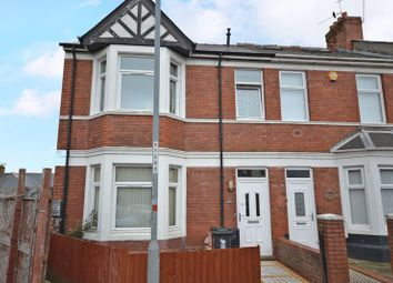Thumbnail 2 bed flat to rent in Hubert Road, Newport