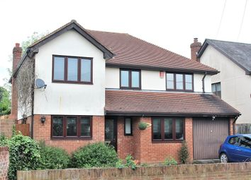 Thumbnail 4 bed detached house for sale in Leaden Roding, Dunmow, Essex