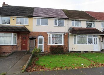 Thumbnail 3 bed terraced house to rent in Alvechurch Road, Northfield, Birmingham