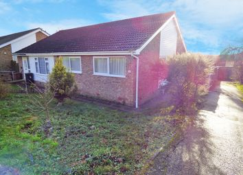 Thumbnail 2 bed semi-detached bungalow for sale in Woodcote, Stowmarket, Suffolk