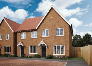 Thumbnail 3 bed semi-detached house for sale in Flora View, Chineham, Basingstoke