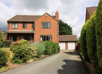 Thumbnail 4 bed detached house for sale in Vicarage Close, Sheffield