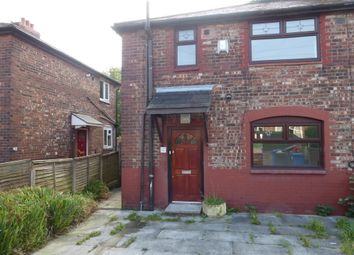 Thumbnail 3 bed semi-detached house for sale in Abergele Road, Burnage, Manchester