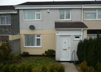 Thumbnail 3 bed terraced house to rent in Antony Gardens, Plymouth