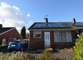Thumbnail 2 bed semi-detached bungalow for sale in Kirton Road, Scotter, Gainsborough