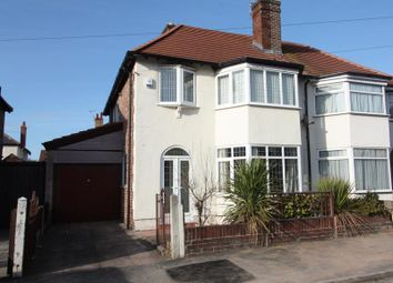 Thumbnail 3 bed semi-detached house for sale in Kingswood Drive, Crosby, Liverpool