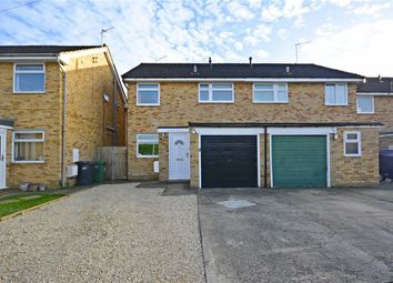 Thumbnail 3 bed semi-detached house for sale in Simon Road, Longlevens, Gloucester