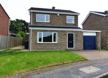 Thumbnail 3 bed detached house for sale in Victoria Grove, Washingborough, Lincoln