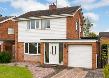 Thumbnail 3 bed detached house for sale in Portland Crescent, Shrewsbury