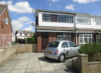 Thumbnail 3 bed semi-detached house for sale in Eastwood Grove, Leigh, Lancashire