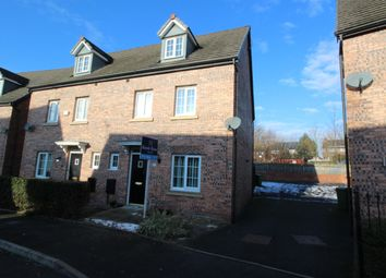 Thumbnail 4 bed semi-detached house for sale in Kestrel Close, Hyde, Cheshire